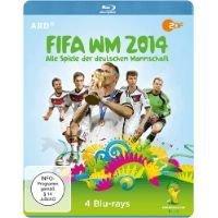 FIFA WM 2014 - Alle Spiele der deutschen Mannschaft [Blu-ray] für 25,98 € @ mediamarkt.de