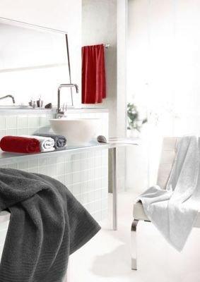 4 x Dyckhoff Duschtuch Brillant, 70x140 cm, Weiß oder grau für 25,91 € (PVG ab 12€ pro Stk) @ mömax.de