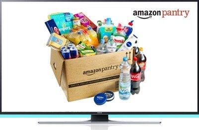 [Amazon Prime] 50€ Pantry Gutschein beim Kauf von ausgewählten TV Geräten
