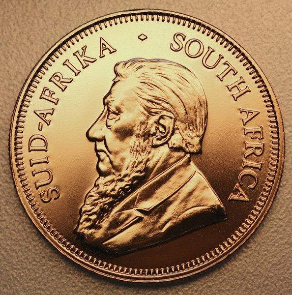 Goldmünze unter Spotpreis
