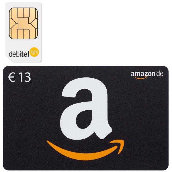 [Ebay] Debitel light für 1,95€ + 13€ Amazon Gutschein