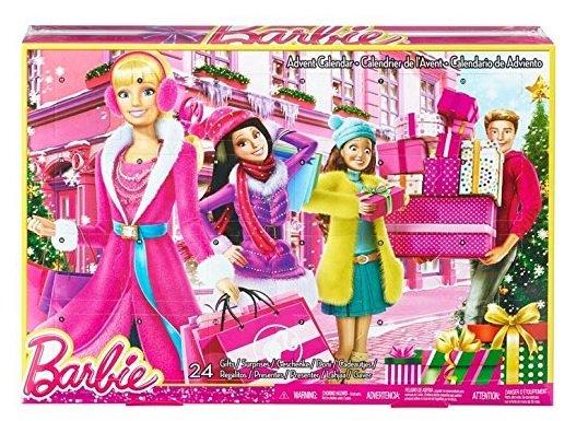 [Amazon +] Mattel Barbie CLR43 - Adventskalender Barbie 2015 - Passend zu den künstlichen Weihnachtsbäumen... früh kaufen und viel Geld sparen! ~70%günstiger