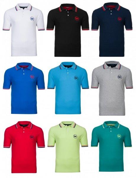 Harvey Miller Herren Polohemd/Poloshirt (9 Modelle, 100 % BW) für 7,99 € @ ebay wow