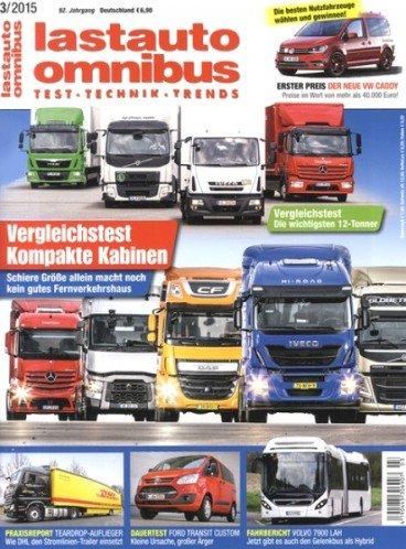 """Jahresabo (11 Ausgaben) """"Lastauto Omnibus"""" für effektiv 5,00€ durch 50,00€ Verrechnungsscheck"""