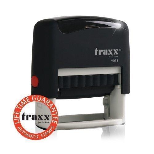 Traxx Stempel 4-zeilig für 0,01€ + 3,93€ Versand @Amazon