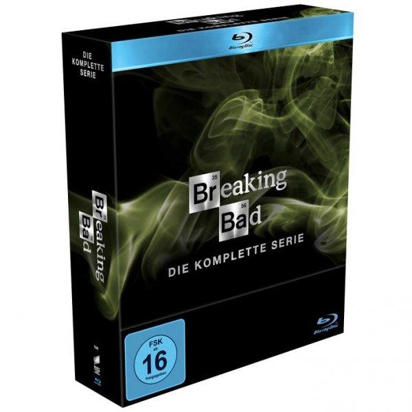 Breaking Bad Box Die komplette Serie auf BluRay