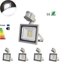 [ebay] 5X 50W Kaltweiß SMD LED Fluter Flutlicht Strahler mit Bewegungsmelder 220V