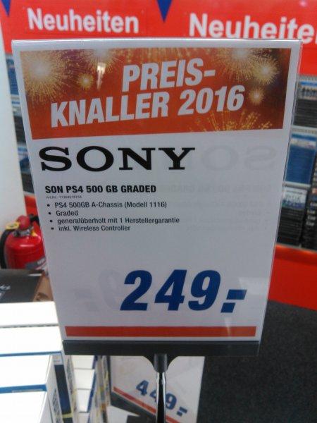 Expert PS4 generalüberholt mit 1 Jahr Herstellergarantie 249 Euro