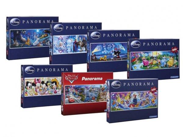 [LIDL] Clementoni Disney Panorama Puzzle mit 1000 Teilen, verschiedene Motive (mehr als 50% unter idealo)