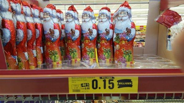 [ Lokal Rheinfelden ] Netto MD ohne Hund - 200 Gramm Weihnachtsmann für 15 Cent