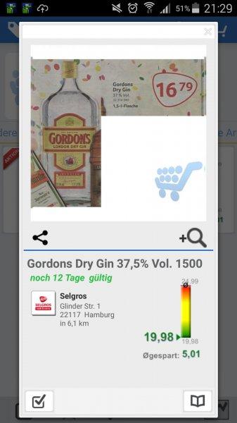 Goedons Dry Gin  1.5 Liter [lokal?]