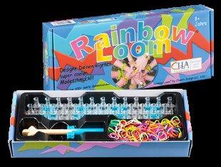 (Amazon Plusprodukt) Rainbow Loom Original-Starterset mit Metallhaken & Webrahmen für Gummibänder