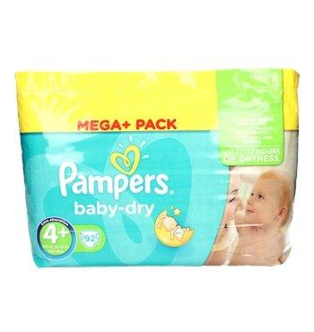 Pampers Babywindeln Größe 4+, 23,- Euro für 92 Stück bei Allyouneedfresh