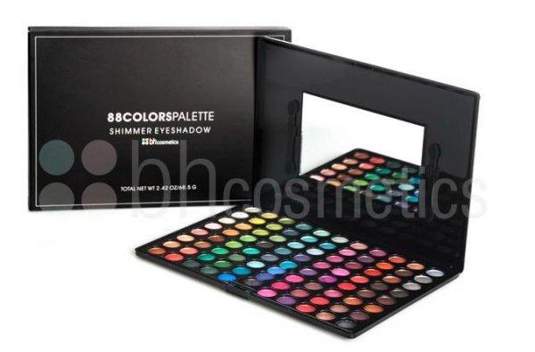 [BH Cosmetics] 5€ Rabatt ab 20€, 10€ ab 40€ und 15€ ab 60€, z.B. 88 Farben Lidschattenpailette + 2 Lippenstifte für 18€ statt 38€ inkl. VSK