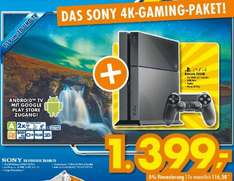 Sony KD-55X8505C 3D- UHD TV plus Sony Playstation 4 500GB in schwarz für 1399€ bei Euronics XXL (Johann u. Wittmar) Ratingen *Lokal*