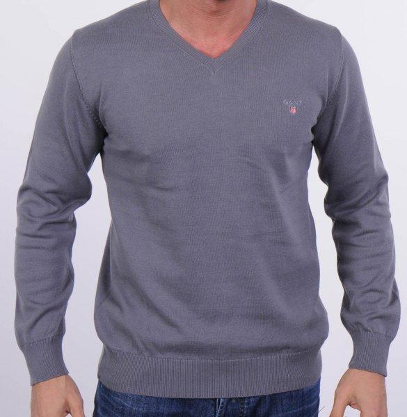 GANT Herren V- Neck Feinstrick Sweater Pullover Gr. S-XXL NEU & OVP