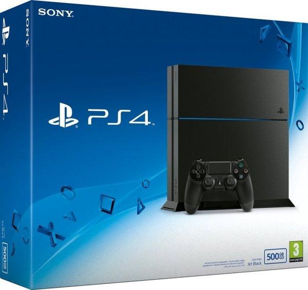 Amazon.de Playstation 4 500GB CUH-1216A 297€