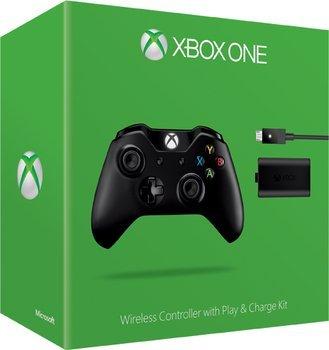 [SMDV] NUR bis Morgen 10.30 Uhr.Microsoft Xbox One Wireless Controller + Play & Charge Kit (2015) (schwarz) für 49,99€ Versandkostenfrei*Aktion jetzt Gültig*