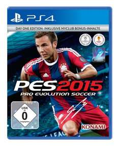 Pro Evolution Soccer 2015 (PS4 / Xbox One) für 7,99 € oder für PC 5 € @ Saturn Latenight Shopping