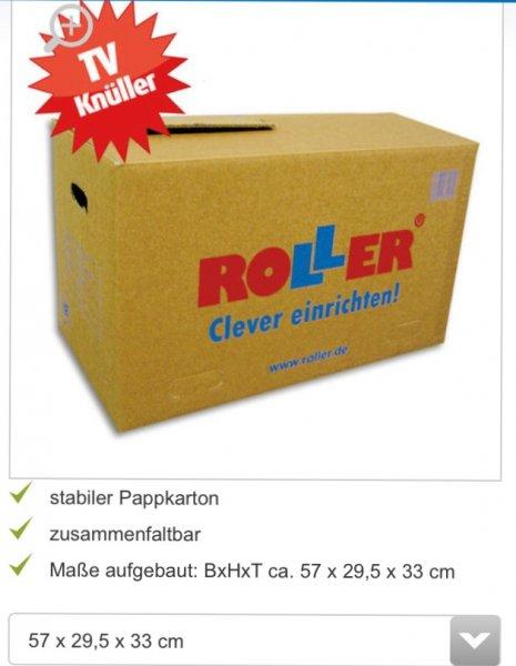 Roller (Bundesweit) Umzugskarton 57x29,5x33 cm