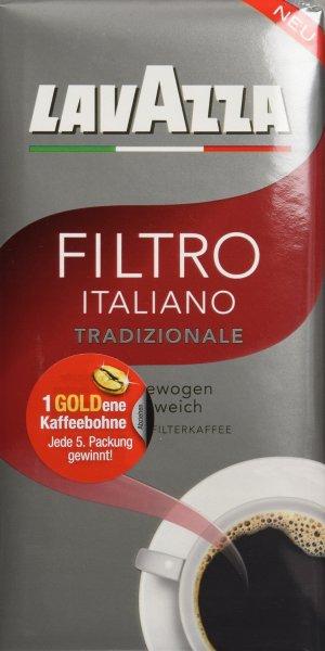 [Amazon Prime] Lavazza Filtro Italiano Tradizionale 1,5kg (3x 0,5kg) für 12,99€