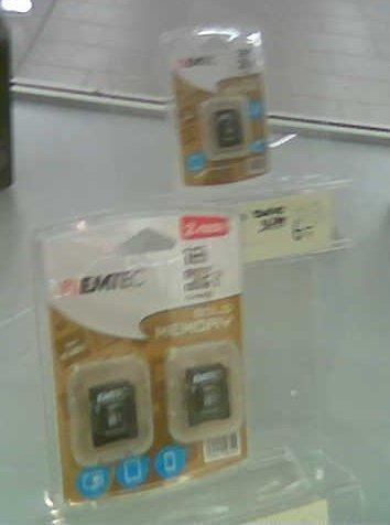 [Lokal] Aldi-Nord EMTEC  microSD-Card 32GB oder 2x16GB in WF