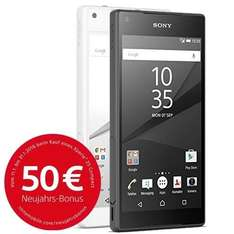 Sony Xperia Z5 Compact @eBay/allyouneed +Cashback eff. 349,90/344,90 €