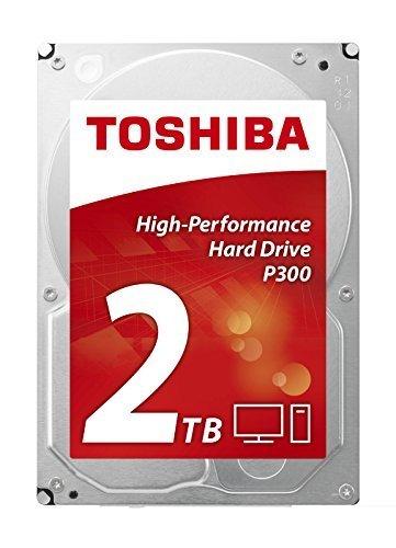 [Amazon] Toshiba P300 HIGH-PERFORMANCE HD HDWD120UZSVA interne Festplatte 2TB (3,5 Zoll), 7200rpm, 64MB Cache, SATA)