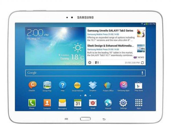 """[Kontra] Samsung Galaxy Tab 3, Tablet, 4G, 16 GB, 25,7 cm ( 10,1"""" ) TFT ( 1280 x 800 ), Kamera auf Rück- und Vorderseite, Android 4.2 (Jelly Bean), Wi-Fi, Bluetooth, Weiß DEMOWARE"""