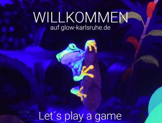 Lokal Karlsruhe: Schwarzlicht / 3D Minigolf kostenlos am 06.02. & 07.02.2016