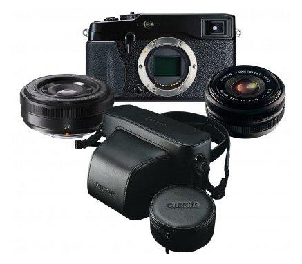 Fujifilm X-Pro1 + 18mm F2 + 27mm F2.8 + LC-XPRO1, 801,95 EUR @ photospecialist.de