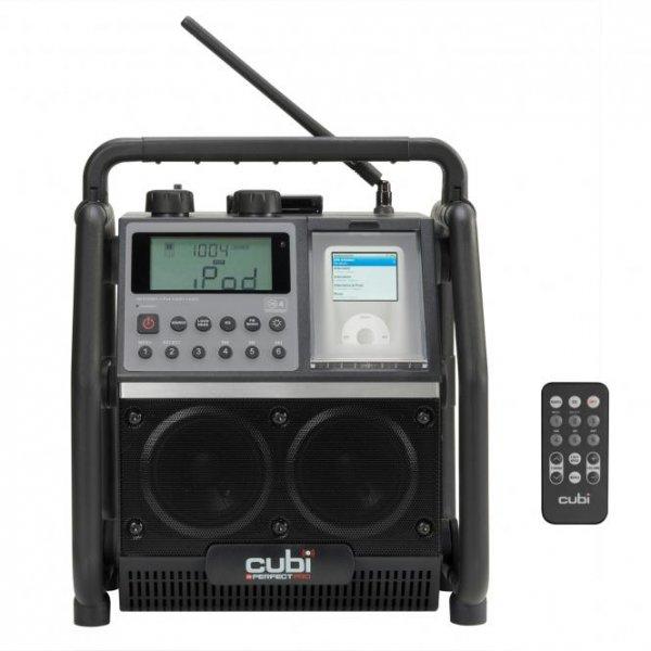 [WIEDER DA] Baustellen- Outdoorradio PerfectPro Cubi iPod-Dockingstation für 89,00 statt 229 Euro