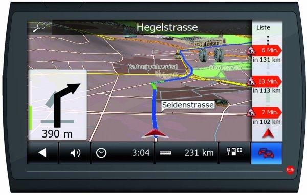 [Amazon] Falk NEO 620 LMU Navigationsgerät (15,2 cm (6 Zoll) Display, 20 Länder Europas vorinstalliert, Lebenslange Kartenupdates, TMC, Marco Polo Travelguide) schwarz