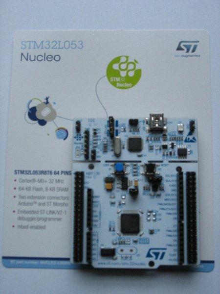 [lokal Nürnberg] STM32 - gratis Entwicklungsboards - Embedded World 2016