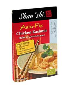Amazon Prime :Shan'Shi Asia Fix Chicken Kashmir, 10er Pack (10 x 18 g) Nur 6,85 € statt 19,90 €