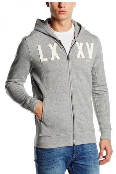 [Amazon Prime] Jack & Jones Kapuzen-Jacke in Grau in S bis XL für 16,46€  (Idealo: ab 36,95 +VSK)