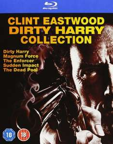 Dirty Harry Kollektion (Blu-ray) für 12,95€ bei Zavvi.de