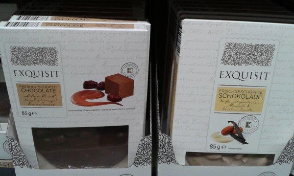 [ Dresden - Striesen ] Exquisit - frischgeschöpfte Schokolade 0,75 € statt 1,49 € - 49% Ersparnis