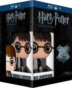 @Amazon FR: Harry Potter 1-8 inkl. Pop Figur für 31,87€ inkl. Versand.