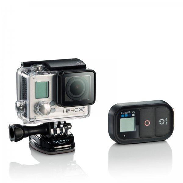 [Ebay] GoPro HERO 3+ Black Edition mit Wifi Remote (generalüberholt) für 232,11€