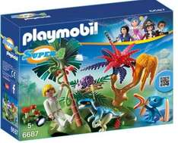 [Amazon Prime] PLAYMOBIL 6687 - Lost Island mit Alien und Raptor (Idealo: 13,83€)