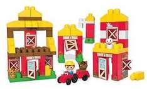 [Amazon] Mattel Mega Bloks First Builders CNG27 (LEGO DUPLO KOMPATIBEL) - Farm, Bau- und Konstruktionsspielzeug