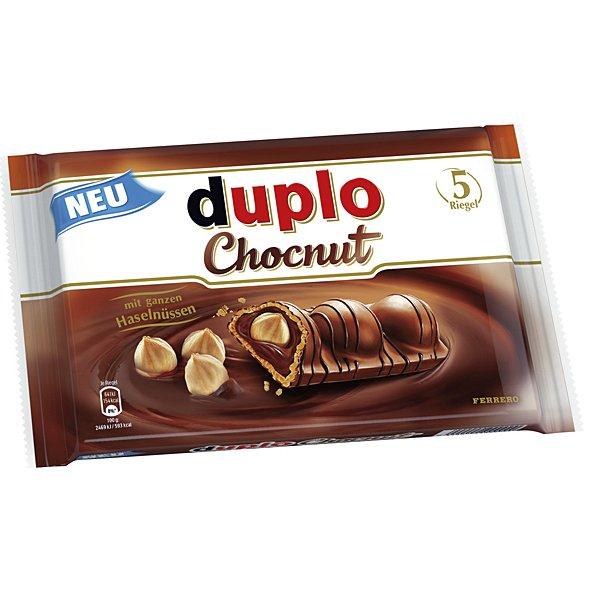 [evtl. lokal Rostock] Duplo Chocnut 5er Pack für 99 Cent @ Lidl