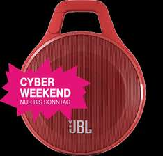 [Telekom Cyber Weekend] JBL Clip Red Bluetooth-Lautsprecher