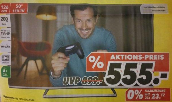 [Lokal] MediMax Berlin Panasonic TX-50CSW524 555€ und weitere Pana-Angebote