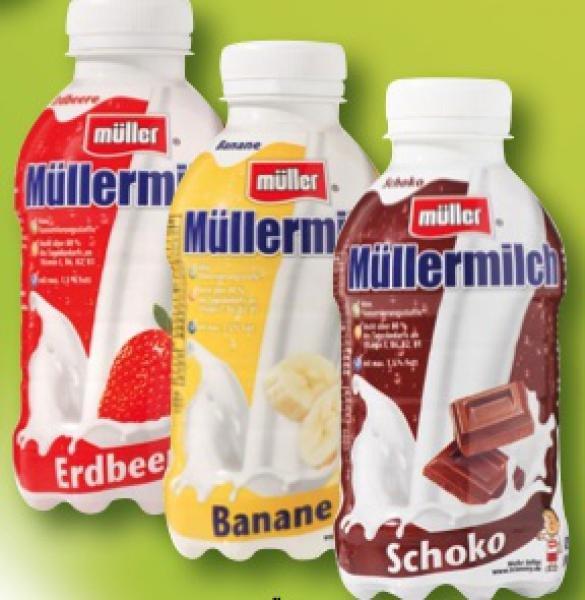 [Kaufland HH] Müller Milch 400ml - versch. Sorten (KW 5)