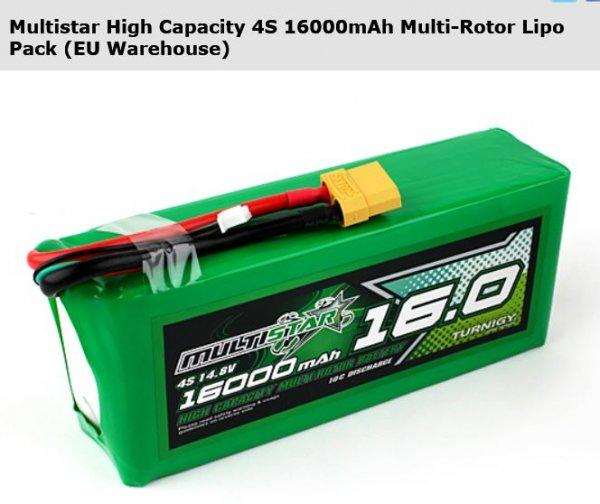 Multistar High Capacity 4S 16000mAh + 51,85 € anstatt 74,07 € +