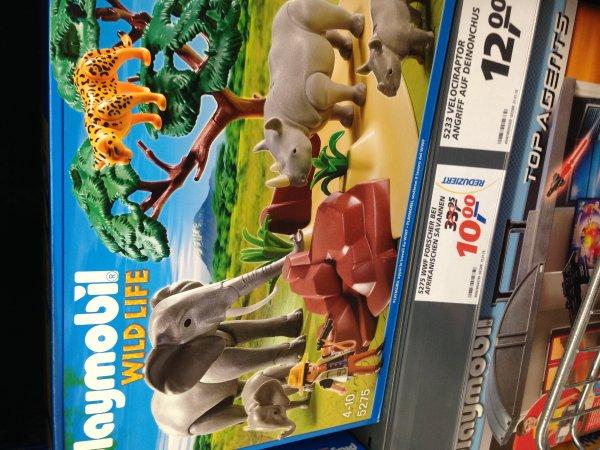 [Lokal] Playmobil bei Real in Henstedt Ulzburg 5275 WWF Forscher bei afrikanischen Savannen