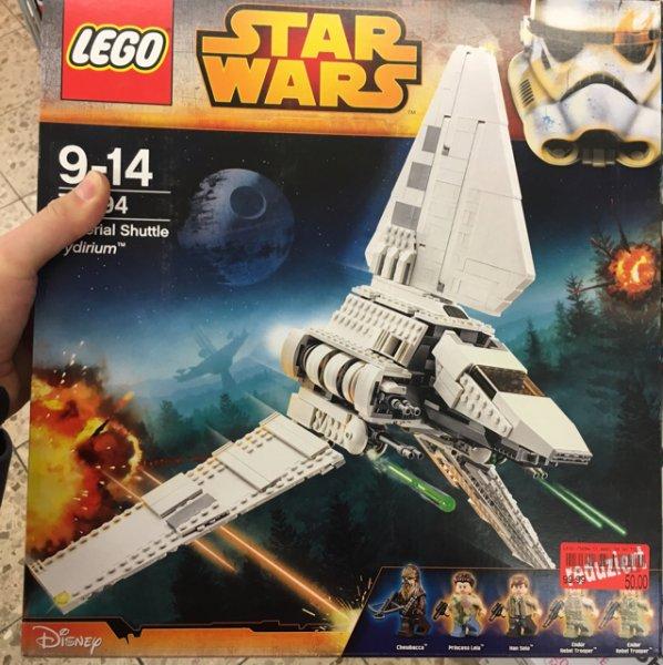 Lokal Sonneberg - Lego Star Wars Raumfähre Tydirium 75094