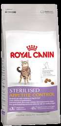 Royal Canin Sterilised Appetite Control Probe (50g) + Spielzeugmaus